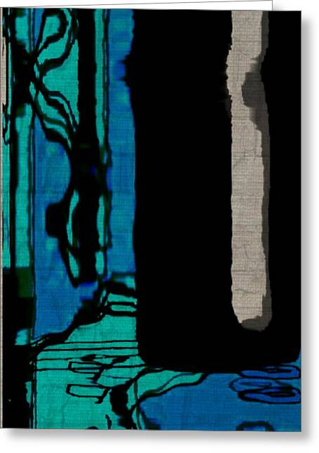 Untitled Stand Still Of Life Greeting Card by Rene Avalos