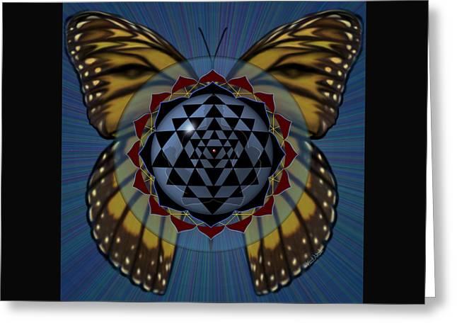 Transforming Meditation Greeting Card