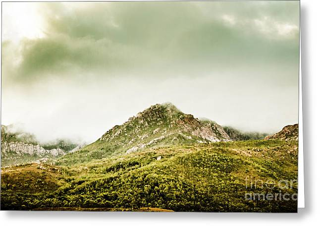 Untouched Mountain Wilderness Greeting Card