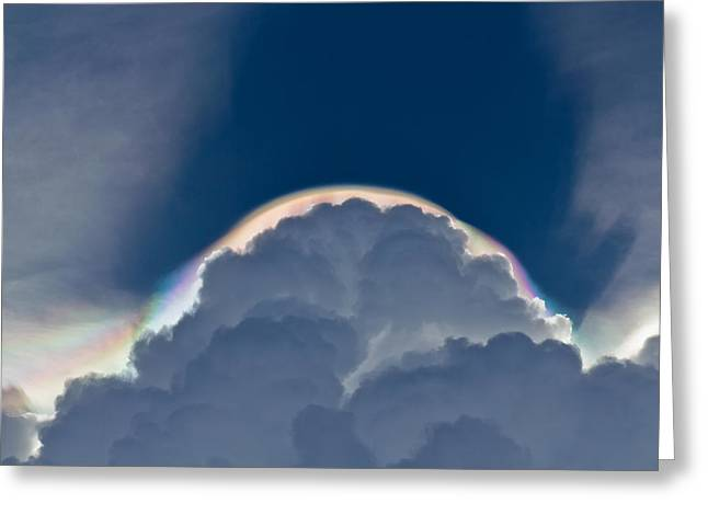 Unusual Cloud Formation Greeting Card