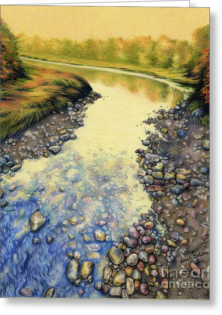 Up A Creek Greeting Card