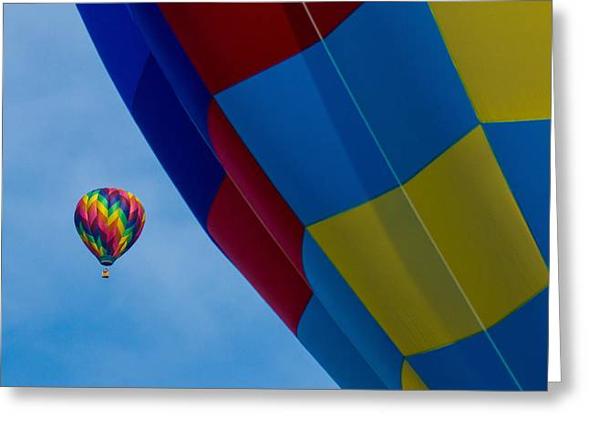 Up And Away 1 12x12 Greeting Card