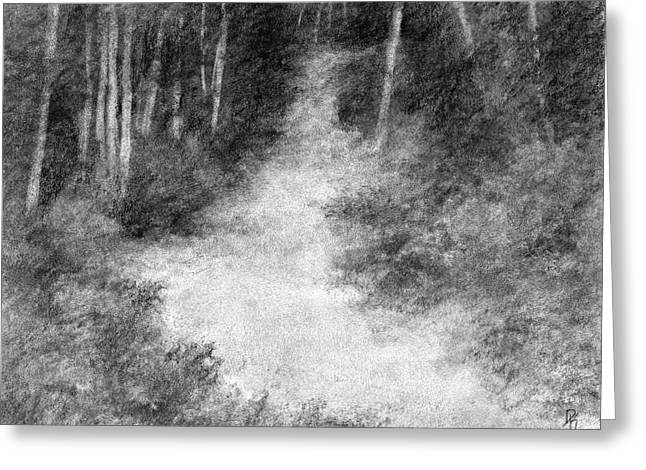 Up Into The Woods Greeting Card