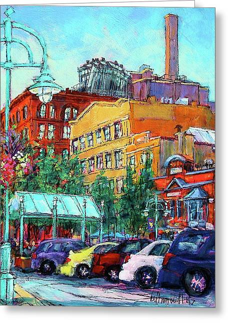 Up On Broadway Greeting Card
