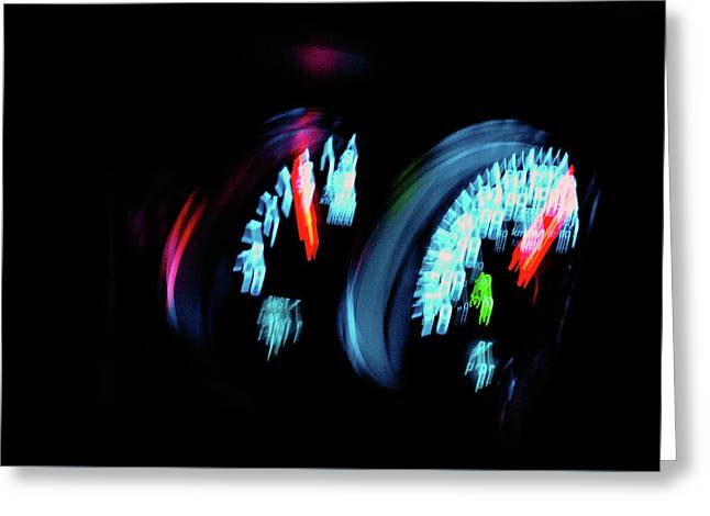 Up To Speed Greeting Card by Paul Wash