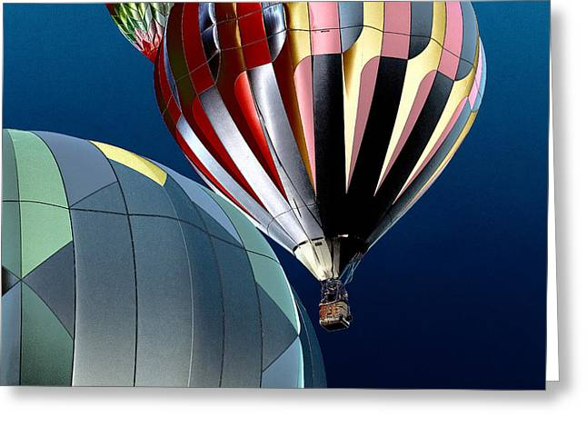 Rally Greeting Cards - Up Up and Away Greeting Card by David Patterson