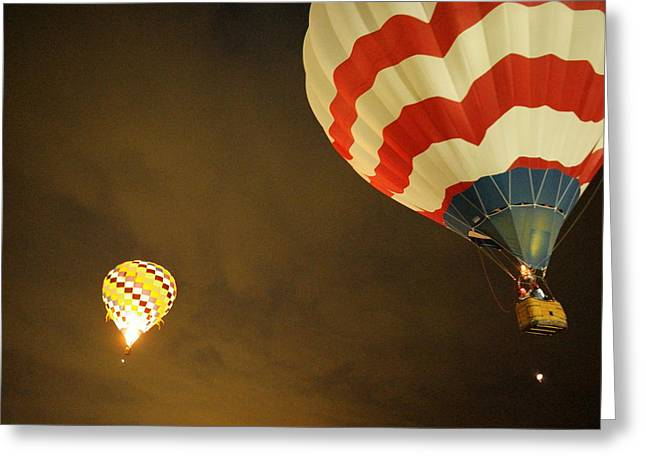 Up Up And Away  Greeting Card by Jeff Swan
