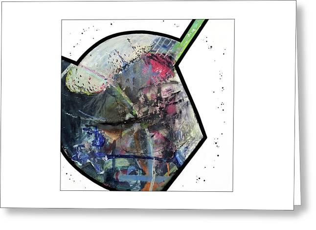Upgrade Your Imagination  Greeting Card by Antonio Ortiz