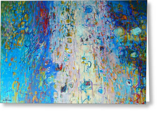 Uplifted Greeting Card by Dale  Witherow