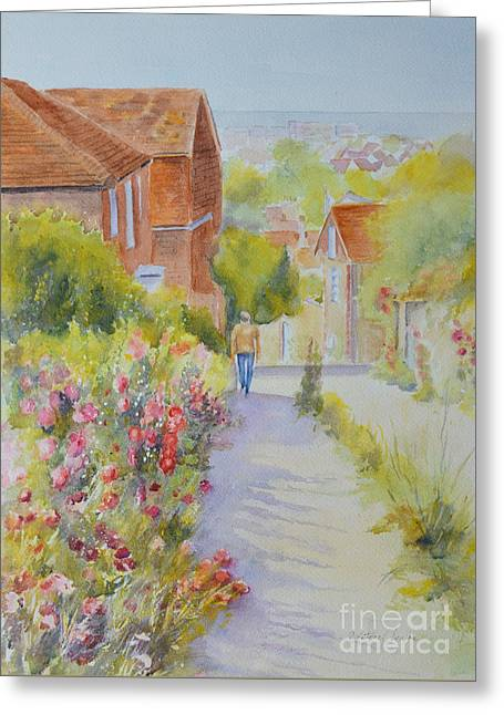 Upper Church Hill 2015 Hythe Greeting Card