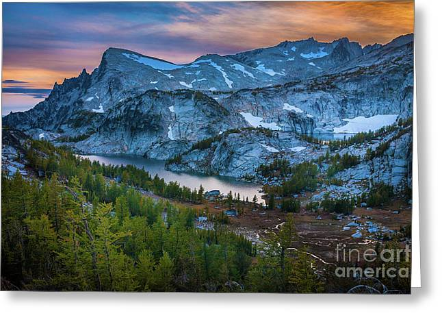 Upper Enchantments Greeting Card by Inge Johnsson