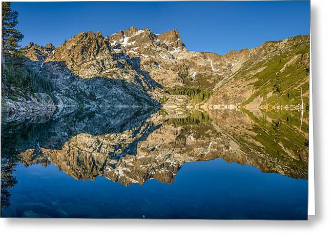 Upper Sardine Lake Panorama Greeting Card