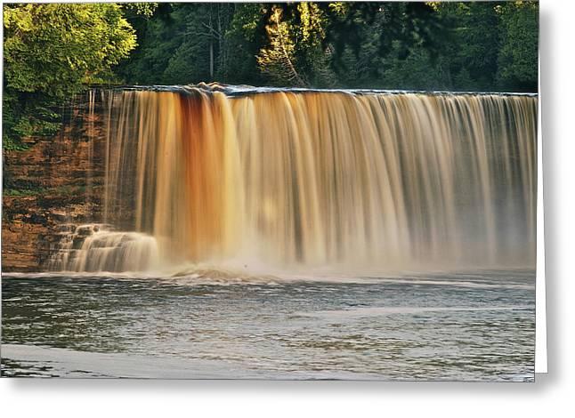 Upper Tahquamenon Falls 6279 Greeting Card