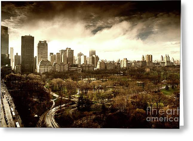 Upper West Side Of New York City Greeting Card