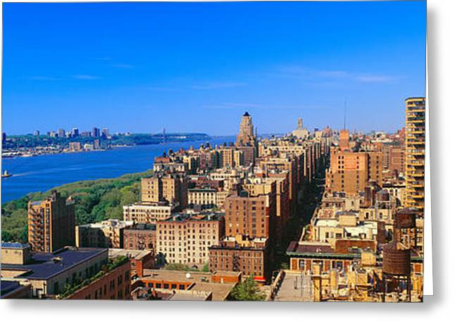 Upper West Side, Manhattan, New York Greeting Card by Panoramic Images