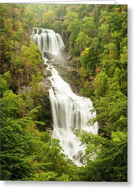 Upper Whitewater Falls Greeting Card