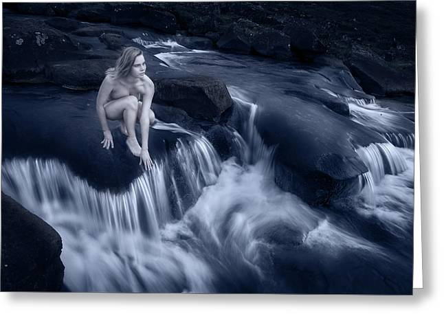 Upstream 2 Greeting Card by Sigthor Markusson
