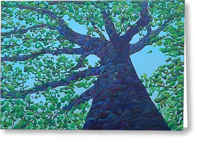 Upward Treejectory Greeting Card