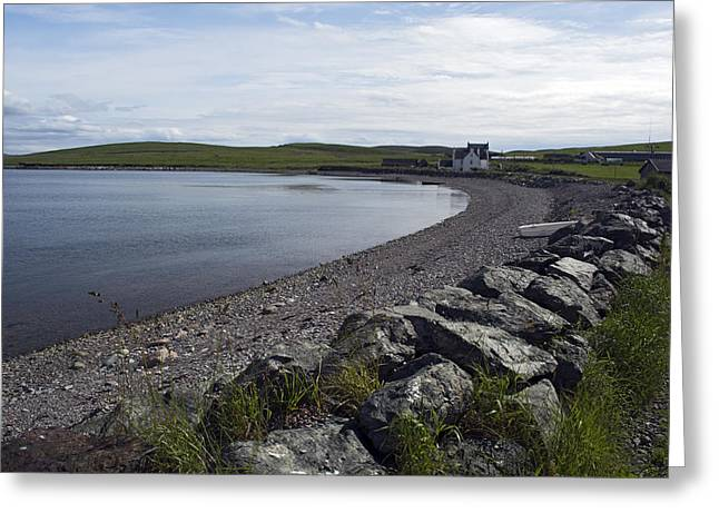 Ura Firth 2 Greeting Card by Steve Watson