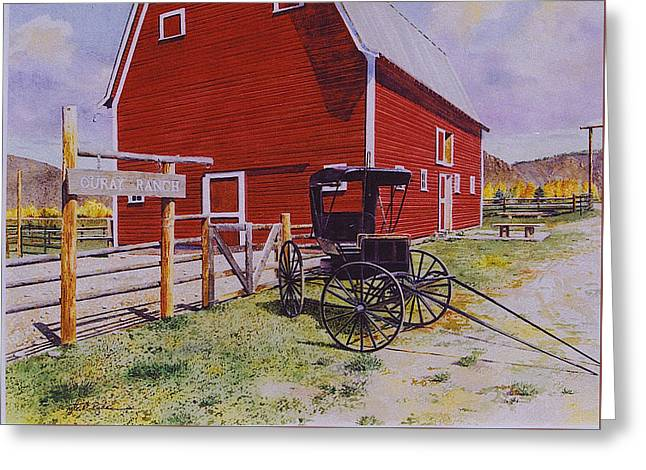 Ouray Ranch Greeting Card
