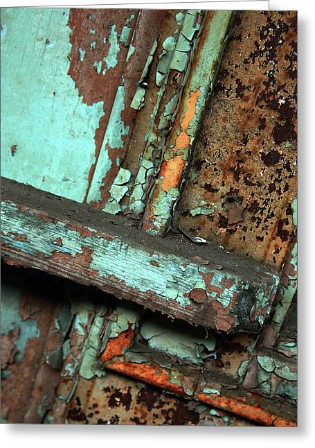 Urban Abstract Greeting Card