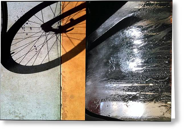 Urban Abstracts Compilations 18 Greeting Card