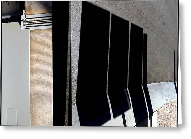 Urban Abstracts Seeing Double 64 Greeting Card