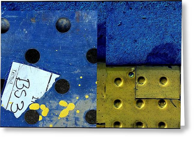 Urban Abstracts Seeing Double 86 Greeting Card