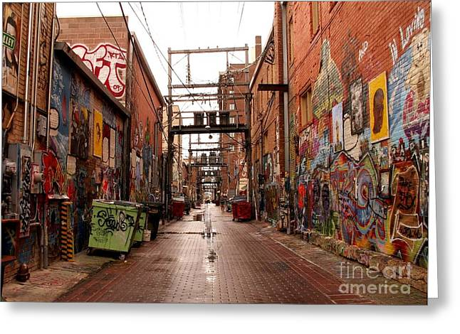 Urban Art Greeting Card