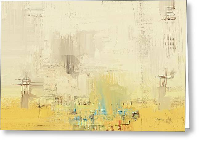 Greeting Card featuring the mixed media Urban Decay by Eduardo Tavares