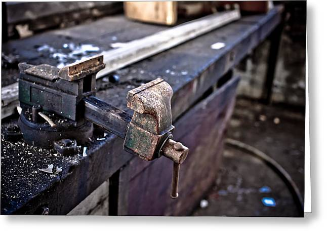 Urban Decay  The Vice Greeting Card by Edward Myers