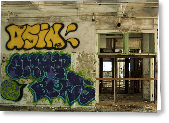 Urban Decay Greeting Card by Timothy Hedges