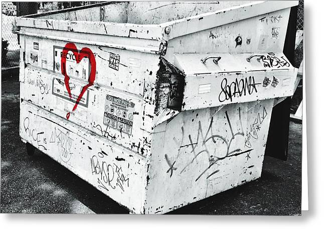 Urban Love Greeting Card