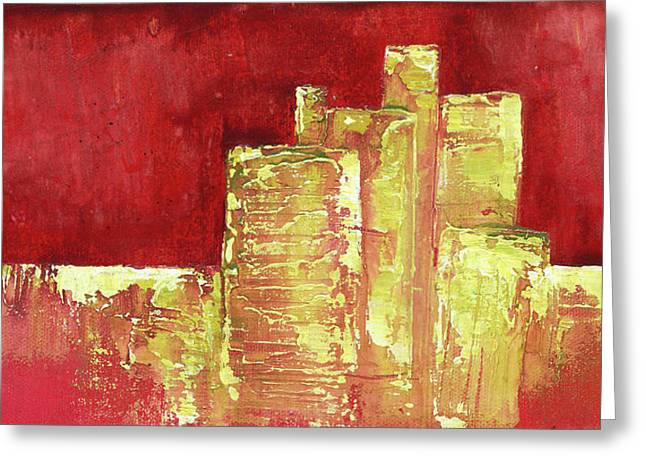 Urban Renewal I Greeting Card by Shadia Derbyshire