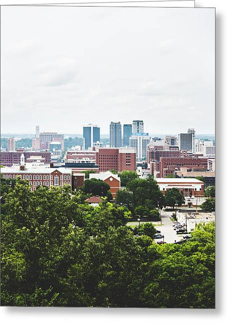 Greeting Card featuring the photograph Urban Scenes In Birmingham  by Shelby Young