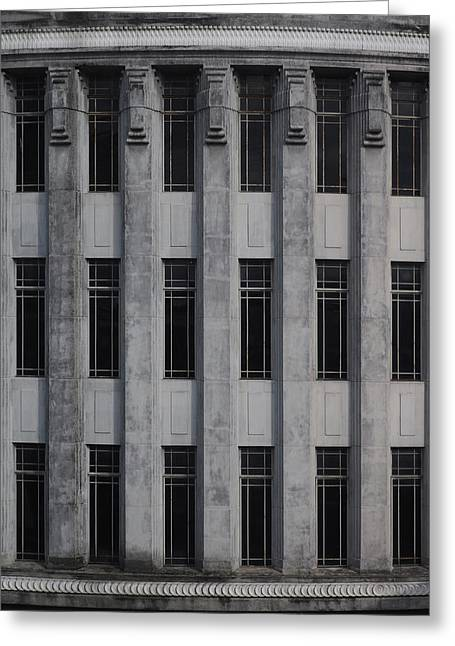 Urban Structure Greeting Card