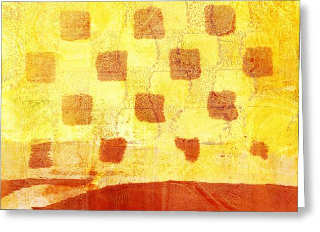 Urban Sunset Number 4 Of 4 Greeting Card by Carol Leigh