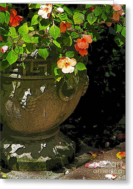 Urn Of Impatience Greeting Card