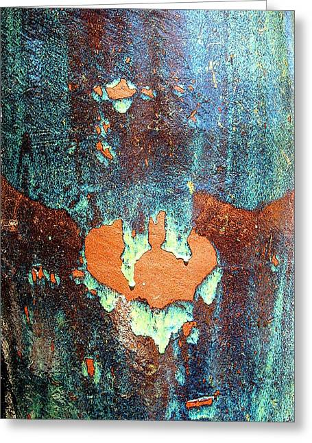 Urnside Abstract Greeting Card