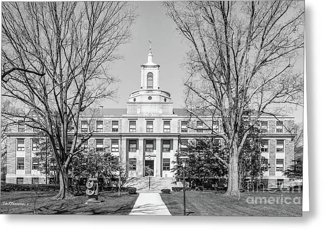 Ursinus College Pfahler Hall Greeting Card by University Icons