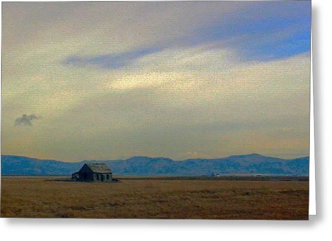 Us 30 Idaho Greeting Card by Robert Morrissey