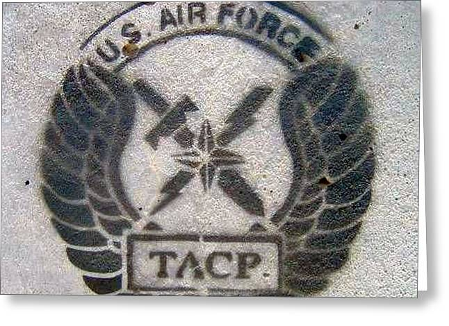 Us Air Force - Tacp Greeting Card by Unknown