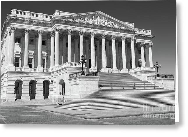 Us Capitol North Wing II Greeting Card