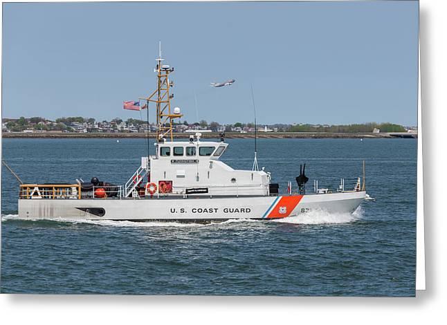 Us Coast Guard Cutter Flyingfish Greeting Card by Brian MacLean