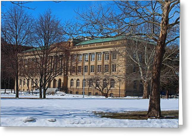 Us Court House And Custom House Greeting Card