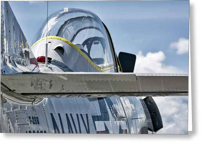 U.s. Navy T-28 Trojan  Greeting Card