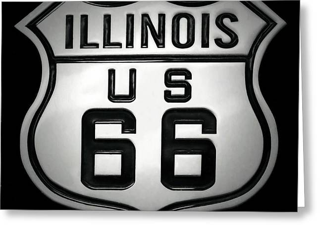 U.s. Route 66 Greeting Card