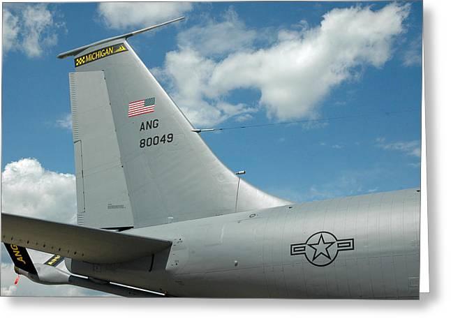 Usa Airshow Greeting Card
