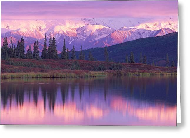 Usa, Alaska, Denali National Park Greeting Card by Panoramic Images
