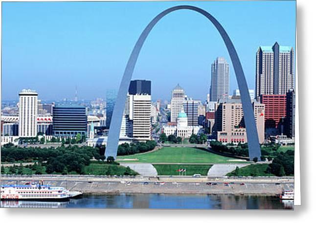 Usa, Missouri, St. Louis, Gateway Arch Greeting Card